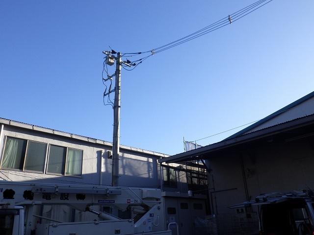 PAS(気中負荷開閉器)更新・受電設備内の碍子交換【朝霞市】